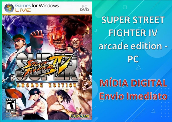 Super Street Fighter 4 - Pc - Mídia Digital