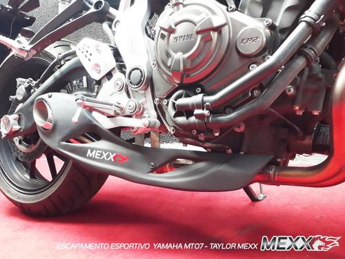 Escapamento Esportivo Yamaha Mt-07 Ponteira Taylor  Cod.149