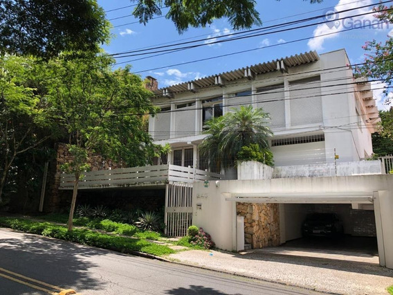 Casa Para Venda/locação, 4 Dorm.,- Pacaembu - São Paulo - Ca0331