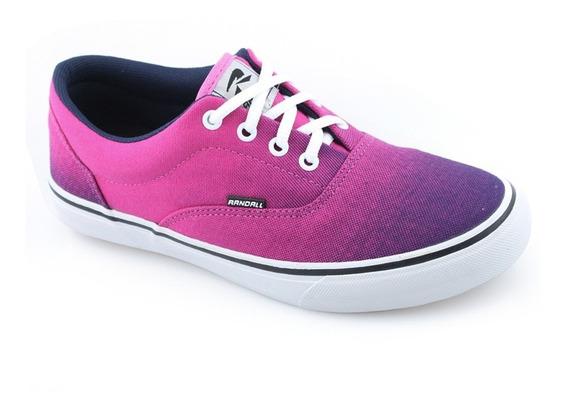 Tênis Pink Feminino Casual Conforto Randall Skate Rdl3066