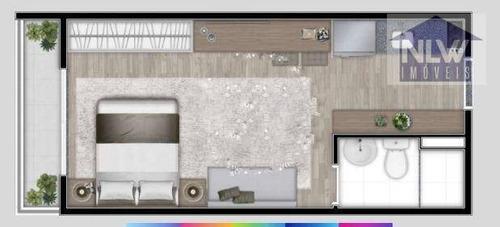Imagem 1 de 2 de Studio Com 1 Dormitório À Venda, 27 M² Por R$ 192.000,00 - Brás - São Paulo/sp - St0168