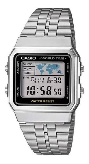 Relógio Casio Vintage Digital Prata