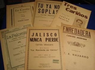 Partituras Antiguas Corridos Y Rancheras Mexicano (6)