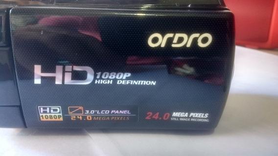 Filmadora Ordro Hd 1080p High Definittion 24 Mega Pixel!