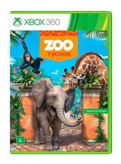 Jogo Zoo Tycoon Novo Xbox 360 Mídia Física Original Lacrado