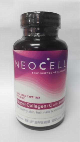 Neocell Super Colageno + Vitamina C + Biotin 2500 Mcg