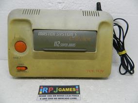 Master System 3 Collection Só O Console C/ 112 Super Jogos