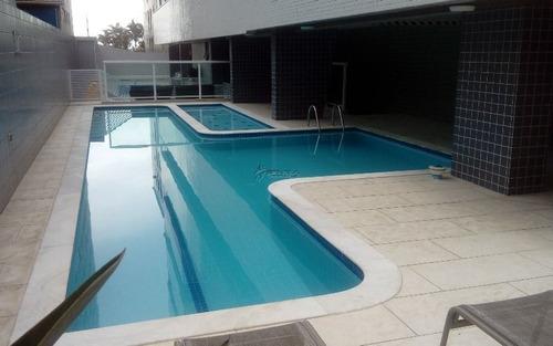 Apartamento Com 3 Dormitórios À Venda, 126 M² Por R$ 520.000,00 - Vila Tupi - Praia Grande/sp - Ap2367