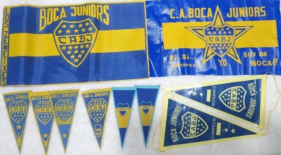 Coleccion Banderas Y Banderines Boca Juniors Bj03b