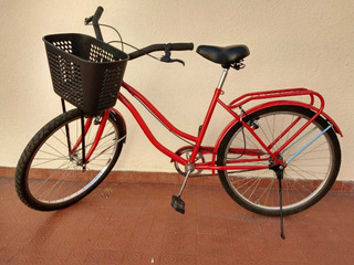 Bicicleta De Paseo Roja