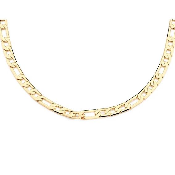 Cordão Rommanel Fio 3x1 Diamantado Elos Lisos Batido 531345