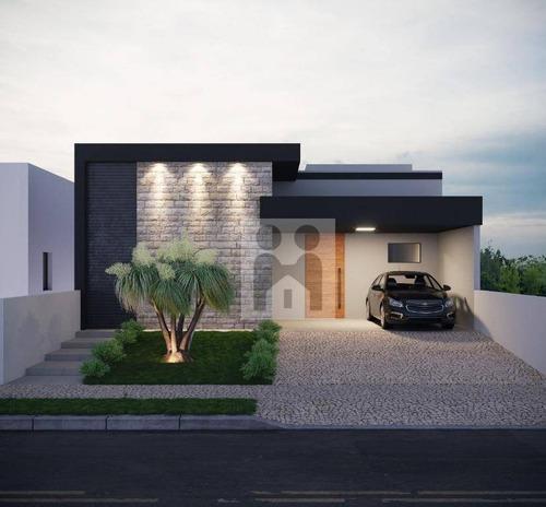Imagem 1 de 3 de Casa Com 3 Dormitórios À Venda, 160 M² Por R$ 850.000,00 - San Marco Ii - Bonfim Paulista/sp - Ca0861
