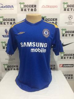 Camisa Chelsea 2005-06 Lampard 8 Premier League