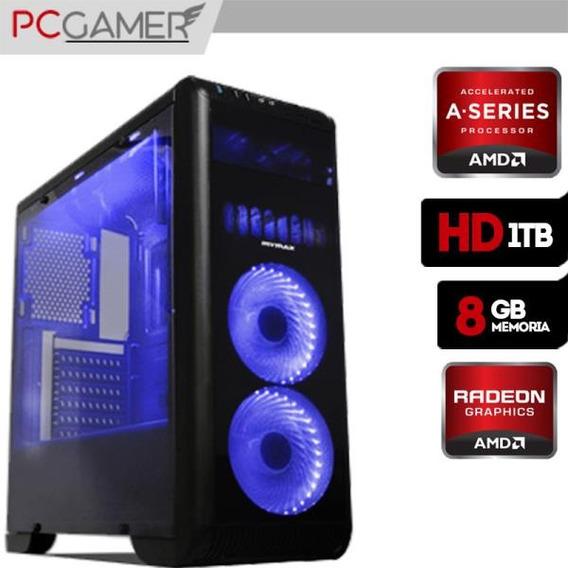 Pc Gamer Amd A8 9600 8gb Ram Ddr4 Radeon R7 Hd 1tb
