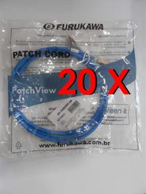 Patch Cord Blindado Gigalan Cat.6a F/utp- Furukawa-kit 20pc
