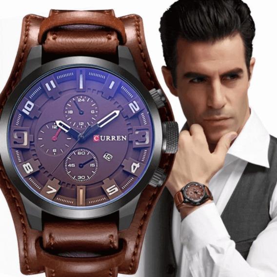 Relógio Masculino Importado Curren Social Frete Grátis