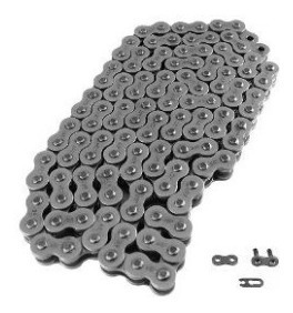 Corrente Jdr Motorcycle Chain - Natural-sem Retentor