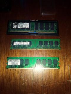 Paquete De Memorias Ram Ddr1 Y Ddr2