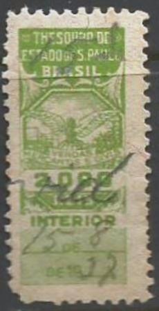 Vendas Mercantis .e Civis- Interior -2000 Reis - S P 10053