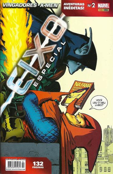 Vingadores E X-men Eixo Especial 2 Panini Bonellihq Cx53 F19
