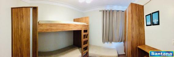 00614 - Apartamento 2 Dorms, Bandeirantes - Caldas Novas/go - 614