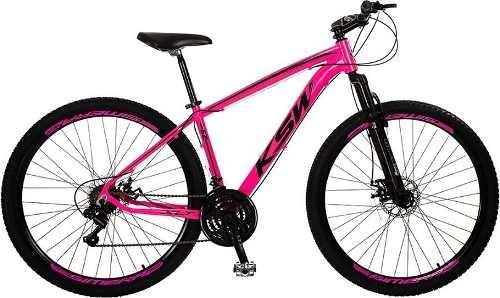 Bicicleta Ksw Aro29 Alumínio 21v Freios À Disco Frete Grátis