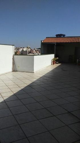 Imagem 1 de 9 de Cobertura Com 2 Dormitórios À Venda, 136 M²  - Vila Helena - Santo André/sp - Co2846