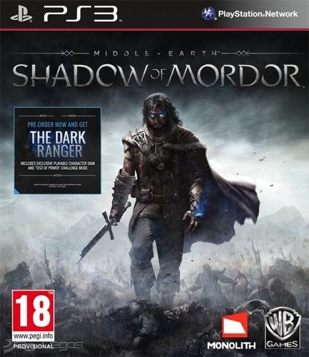 Sombras De Mordor Ps3