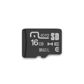 Cartão Micro Sd De Memória Para Camera Fotografica 16gb Fino