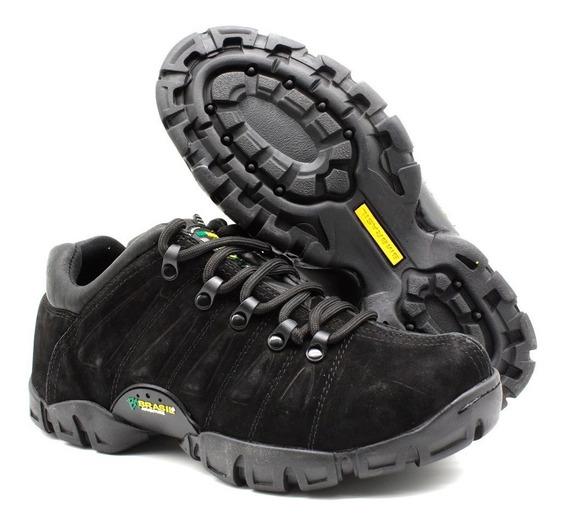 Bota Tenis Adventure Em Couro Bmbrasil Boots 5309