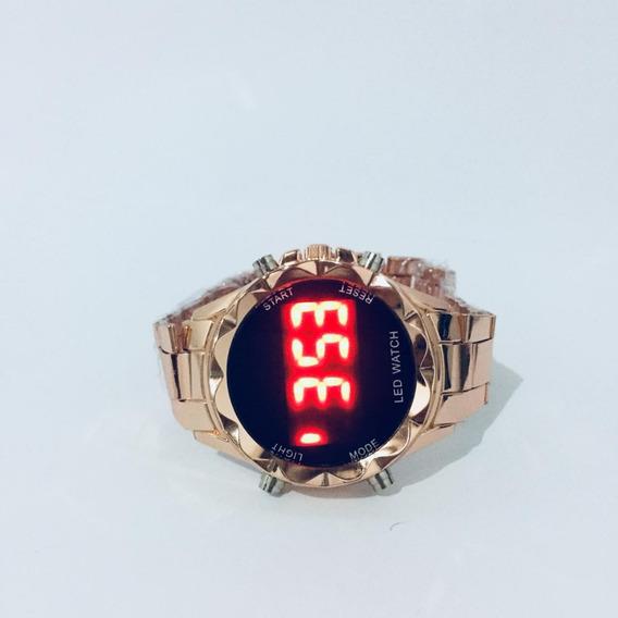 Relógio Feminino Led Comprou ? Ganhou ! Pulseira De Brinde