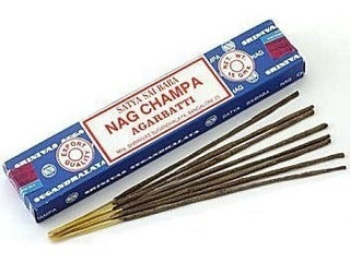 Nag Champa Incienso Original De La India Por Unidad