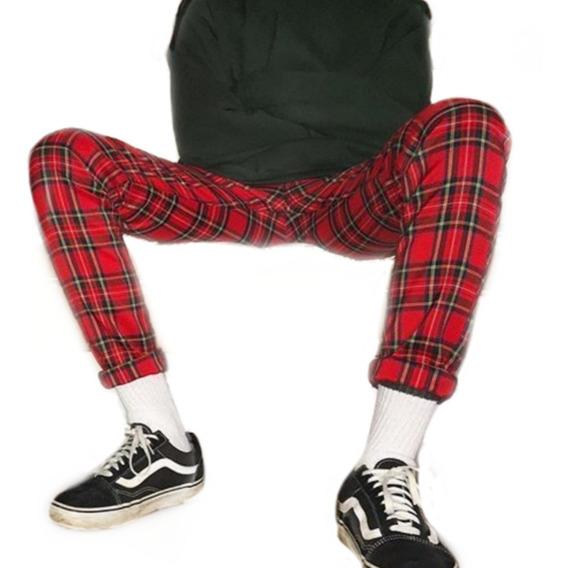 انحدار فريد مهجور Pantalon Punk Escoces Hombre Teens Novel Com