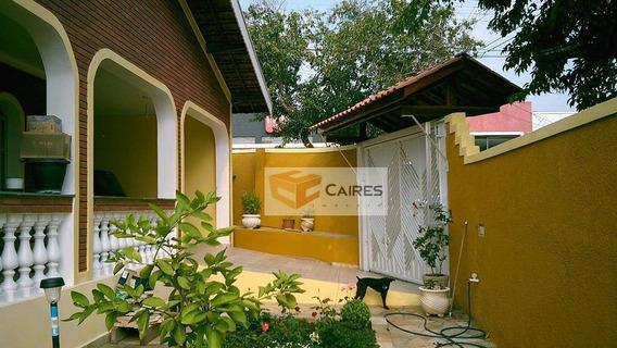 Casa Residencial À Venda, Parque Cecap, Valinhos. - Ca2128