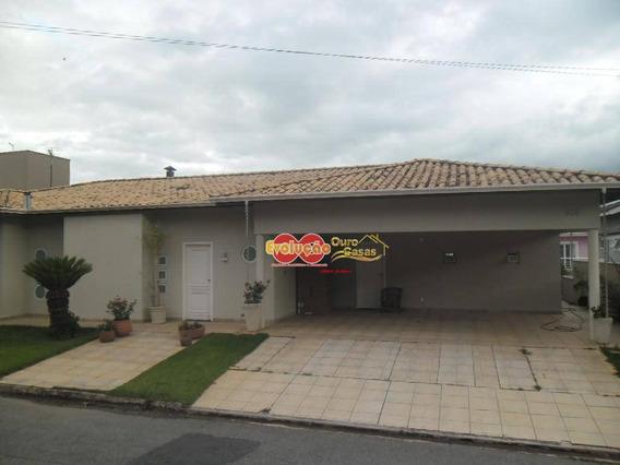Casa Situada Em Condomínio Fechado Com Portaria E Segurança 24 Horas. Condomínio Residencial - Itatiba Country Club. - Ca3683