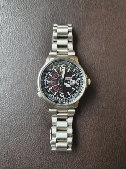 Relógio Citizen Nighthawk Promaster Bj7000-52e (quase Novo!)