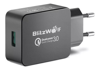 Carregador Turbo Blitzwolf Bw-s5 Qc 3.0 P/ Android E iPhone
