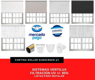 Cortinas Roller- Black Out- Sunscreen-traslúcidas- Rusticas