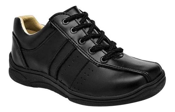 Zapato Cosmos 53415 Niño Talla 15-17 Color Negro Pk-oi19