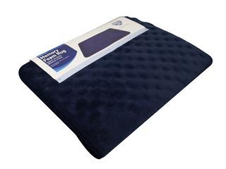 Tapetes De Baño Spring Air Memory Foam Rug Azul Marino