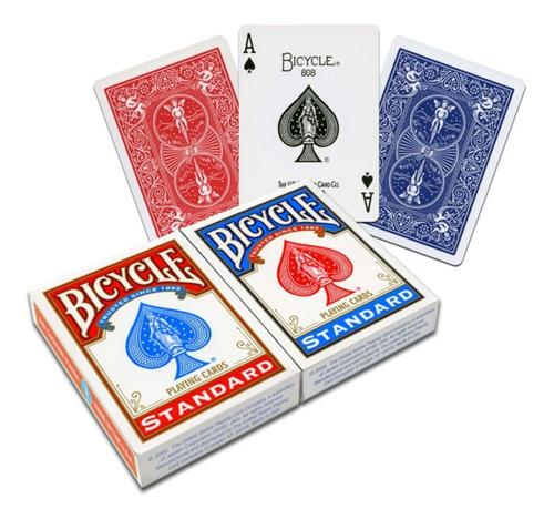 Imagen 1 de 6 de ¡ Cartas Bicycle Stándar Baraja Poker Original Importado !!