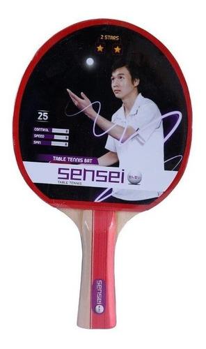 Imagen 1 de 2 de Paleta De Ping Pong Sensei 2 Estrellas