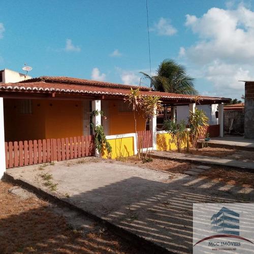 Casa De Praia Com Ponto Comercial A Venda Redinha Nova