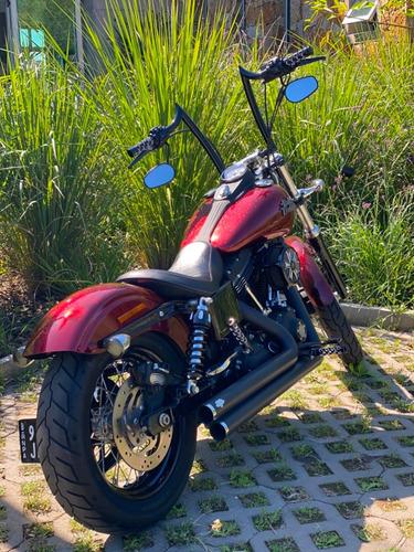 Moto Harley Davidson Dyna Street  Bob