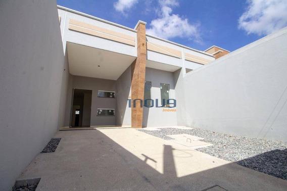 Casa Com 3 Dormitórios À Venda, 75 M² Por R$ 197.000,00 - Mondubim - Fortaleza/ce - Ca0504