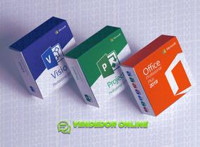 Licença Office + Visio + Project 2019 Vitalício Serial Key