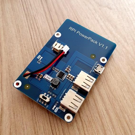 Rpi Powerpack Para Raspberry Hotspot Mmdvm Com Bateria 3800