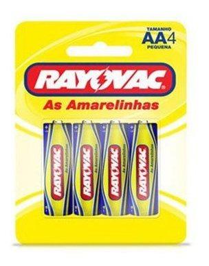 Pilhas Rayovac Pequena Aa 05 Cartelas Com 04 Unidades