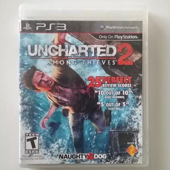 Uncharted 2 Among Thieves - Ps3 - Físico - Seminovo Espa