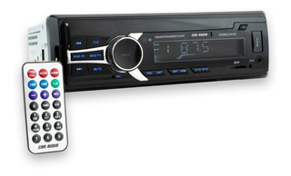 Estéreo 1 Din Con Control Remoto / Mp3 Bluetooth Usb